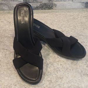 Kenneth Cole Reaction Wedge Sandals Size 8